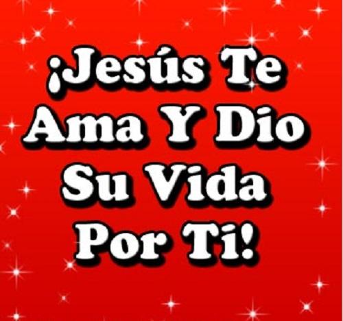 Jesús dio la vida por ti